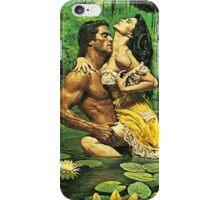 Old School romance novel cover or stepback iPhone Case/Skin