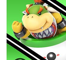 Bowser Jr-Smash 4 Phone Case by TomsTops
