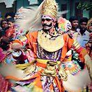 Veeragase Dancer by Vandana Indramohan