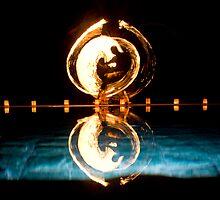 Fire Angel - Seminyak Bali by Paul Fulwood