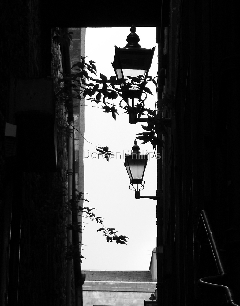 Anchor close light silhouette by DoreenPhillips