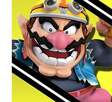 Wario Alternate-Smash 4 Phone Case by TomsTops