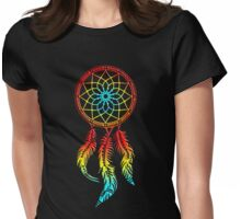 Dream Catcher, dreamcatcher, native americans, american indians, protection Womens Fitted T-Shirt