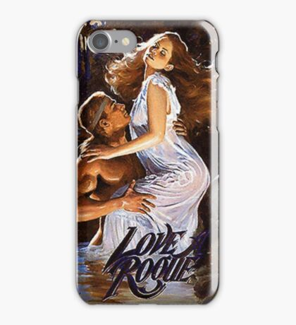 Love A Rogue romance novel cover with Fabio iPhone Case/Skin