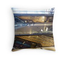 Looking Up, Looking Down Throw Pillow