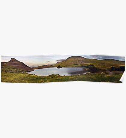 Cregennan Lake at Dusk Poster