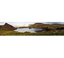 Cregennan Lake at Dusk Photographic Print