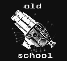 old school white Unisex T-Shirt