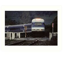 1996 Country link Wodonga Art Print