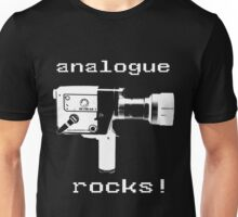 analogue rocks Unisex T-Shirt
