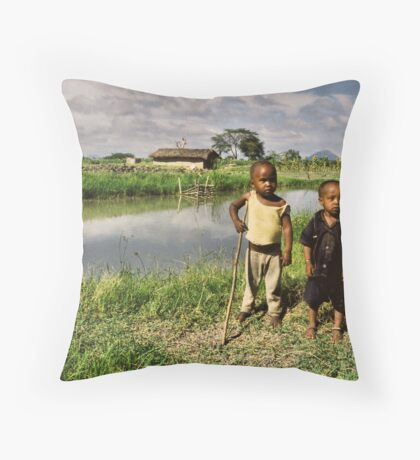 Fish Farmers 2 Throw Pillow