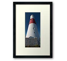 Portland Bill Lighthouse 4 Framed Print