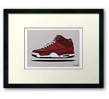 Nike Jordan's Framed Print