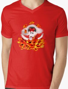 DOLORES LOVES AUTUMN/TEE SHIRT BABY GROW/KIDS TEE Mens V-Neck T-Shirt