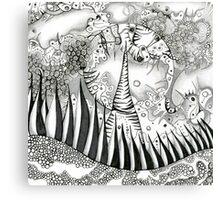 Moondoodle Canvas Print