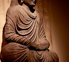 Buddha, Yale University Art Gallery by micpowell