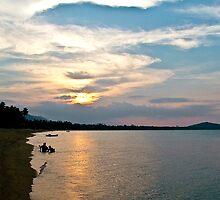 Koh Samui Sunset by Carol Ritchie
