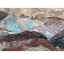 Earth Tones - Death Valley Photographic Print