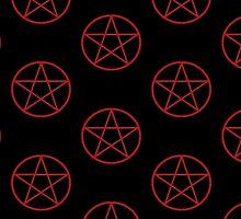 Pentagram Pattern by HeidiHolmes