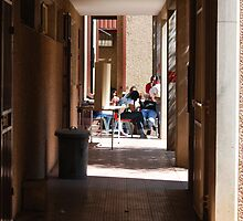 Township Life -  Down the corridor by laureenr