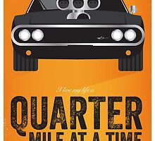 Cinema Obscura Series - The Fast & the Furious - Quarter Mile by Geoff Bloom