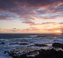 Ocean Sunset by Andrew Widdowson