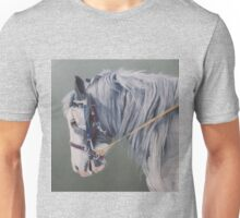 Gypsy Cob mare-Milltown Fair Unisex T-Shirt