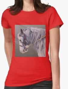 Gypsy Cob mare-Milltown Fair Womens Fitted T-Shirt