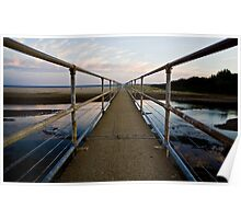 Footbridge to Seven Mile Beach Poster