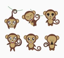 Funny Monkeys Kids Clothes