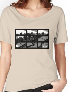 Crossing The Bridge into The Abstract Women's Relaxed Fit T-Shirt