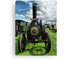 Wallis & Steevens Steam Traction Engine 'Fair Rosamund' Canvas Print