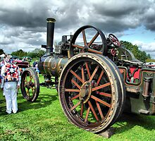 Steam Traction Engine 'Fair Rosamund' by Clive Lewis-Hopkins.