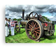 Steam Traction Engine 'Fair Rosamund' Canvas Print