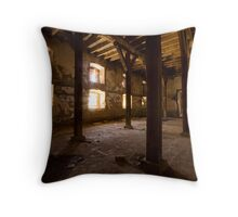 No More Sleepers Throw Pillow