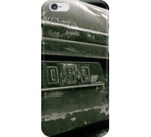 Classic Ford Emblem iPhone Case/Skin