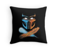FINISH HIM! Throw Pillow