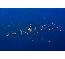 Unique boats gathering Photographic Print
