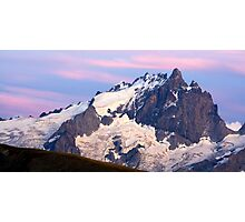 La Meije Viewed From Oisans Photographic Print