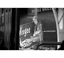 Tribute to Weegee Photographic Print