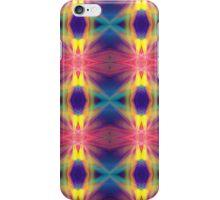 Colourful fractal patterns iPhone Case/Skin
