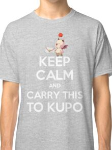 FF9 - Keep Calm and Carry This to Kupo Classic T-Shirt