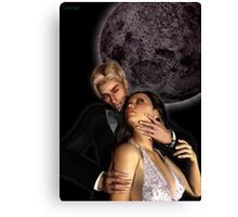 Surrender to the Vampire Canvas Print