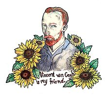"""Van Gogh is my friend"" by amberrob"
