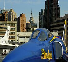 The Blue Angels On Manhattan by artisandelimage