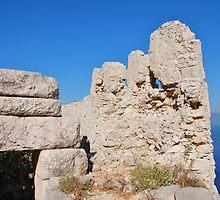 Crusader Knights castle, Halki by David Fowler