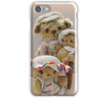 The Three Bears - Handmade bears from Teddy Bear Orphans iPhone Case/Skin