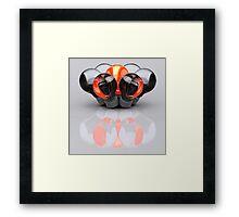 Group of Bulbs Framed Print