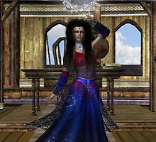 The Orb .. a witches spell caster by LoneAngel