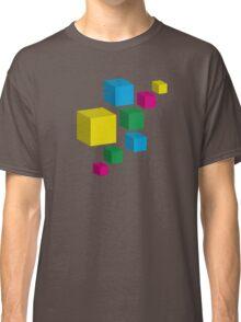Floating Pixels Classic T-Shirt